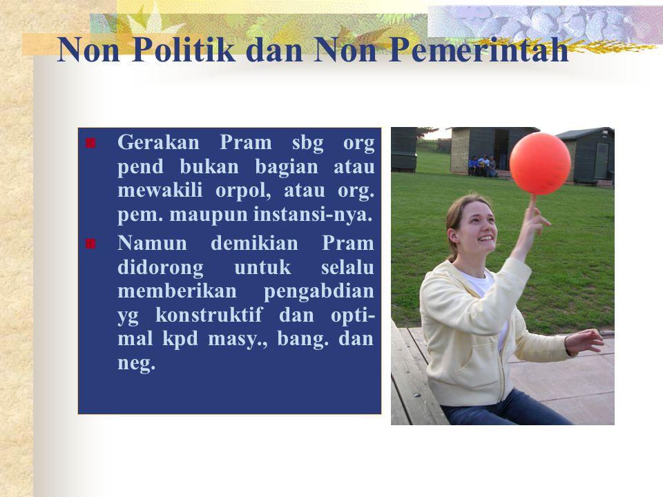 Non Politik dan Non Pemerintah