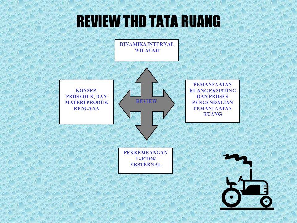REVIEW THD TATA RUANG DINAMIKA INTERNAL WILAYAH
