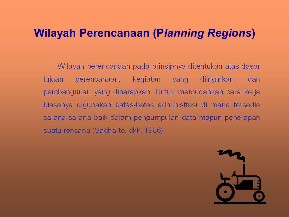 Wilayah Perencanaan (Planning Regions)