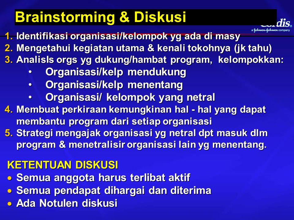 Brainstorming & Diskusi