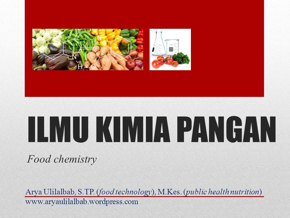 ILMU KIMIA PANGAN Food chemistry