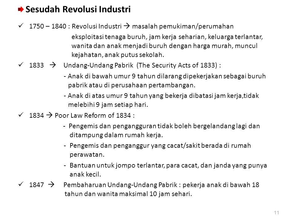 Sesudah Revolusi Industri