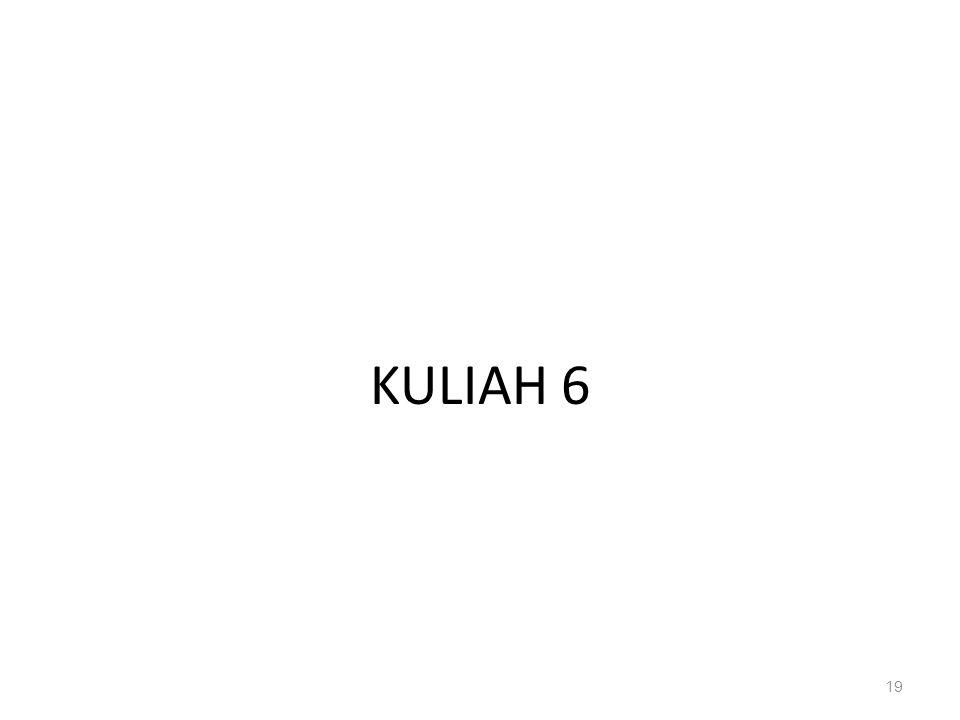 KULIAH 6