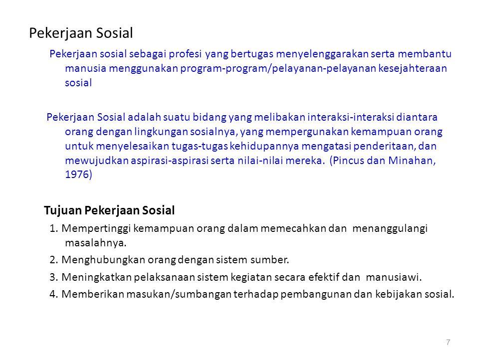 Pekerjaan Sosial