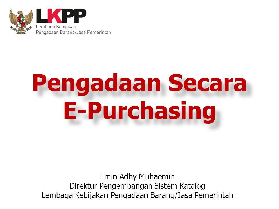 Pengadaan Secara E-Purchasing