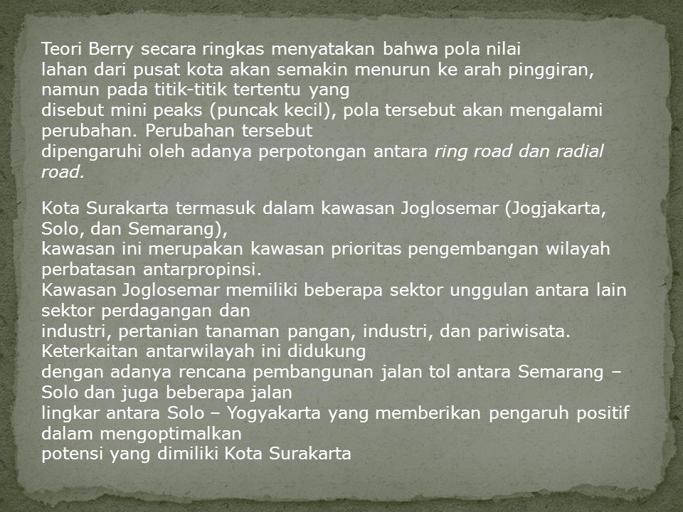 Teori Berry secara ringkas menyatakan bahwa pola nilai