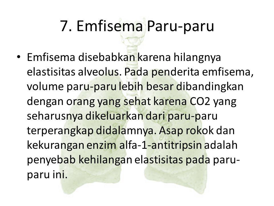 7. Emfisema Paru-paru