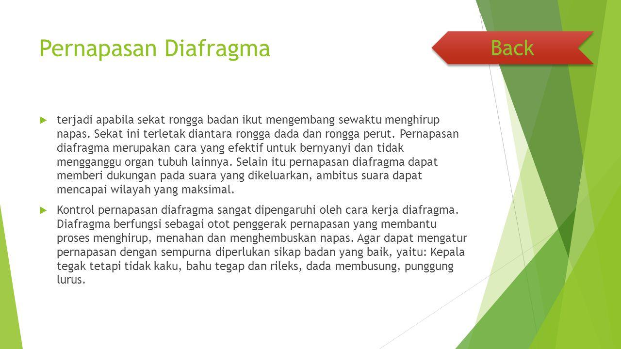 Pernapasan Diafragma Back