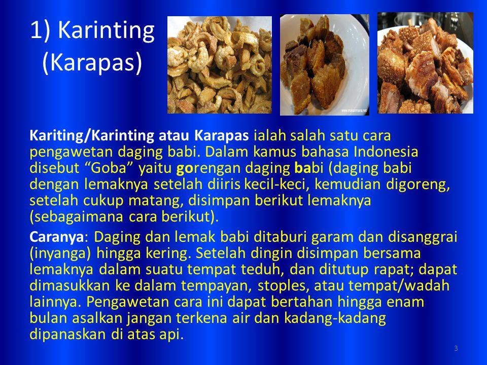 1) Karinting (Karapas)