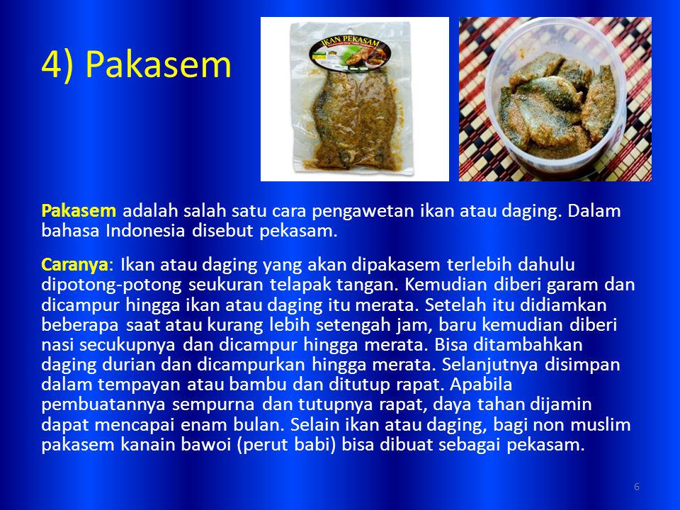 4) Pakasem