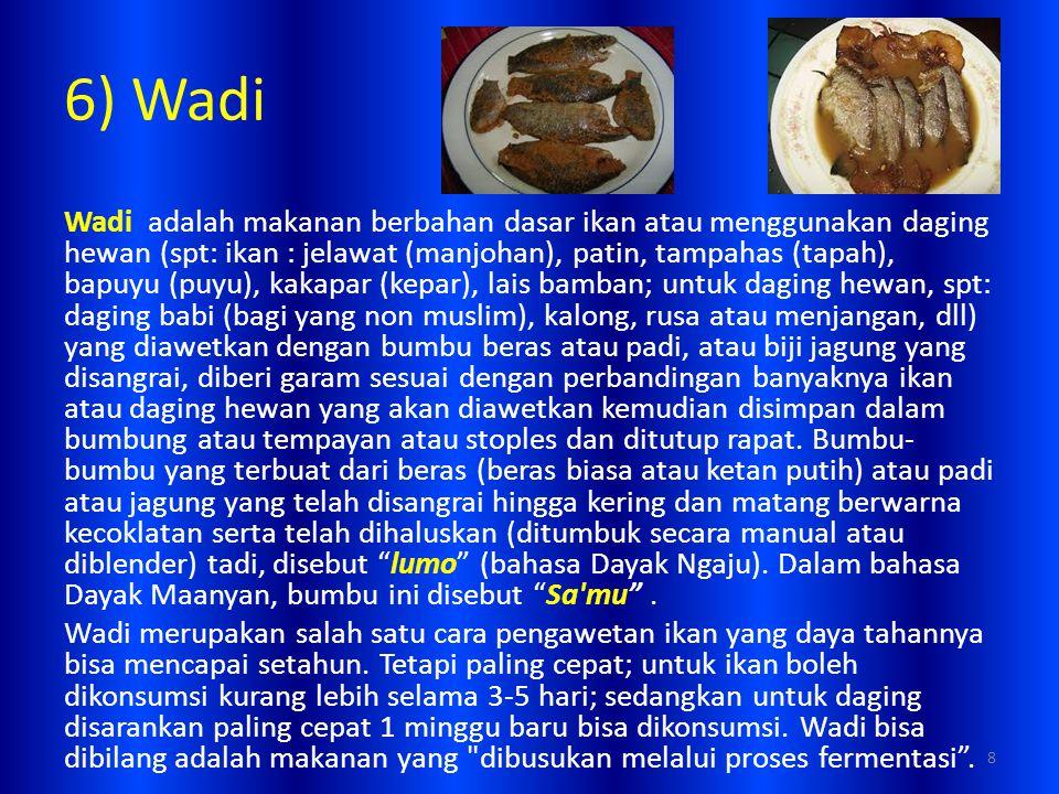6) Wadi