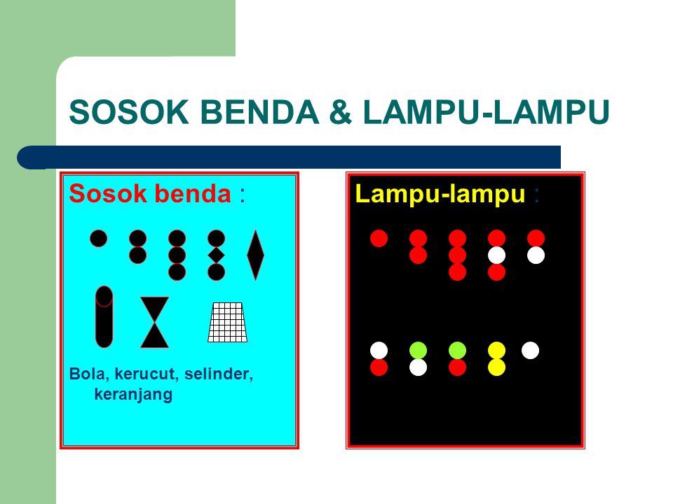 SOSOK BENDA & LAMPU-LAMPU