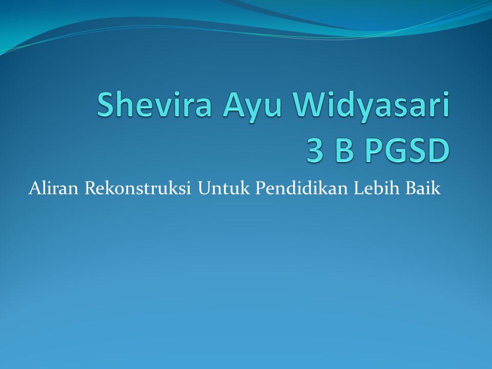 Shevira Ayu Widyasari 3 B PGSD
