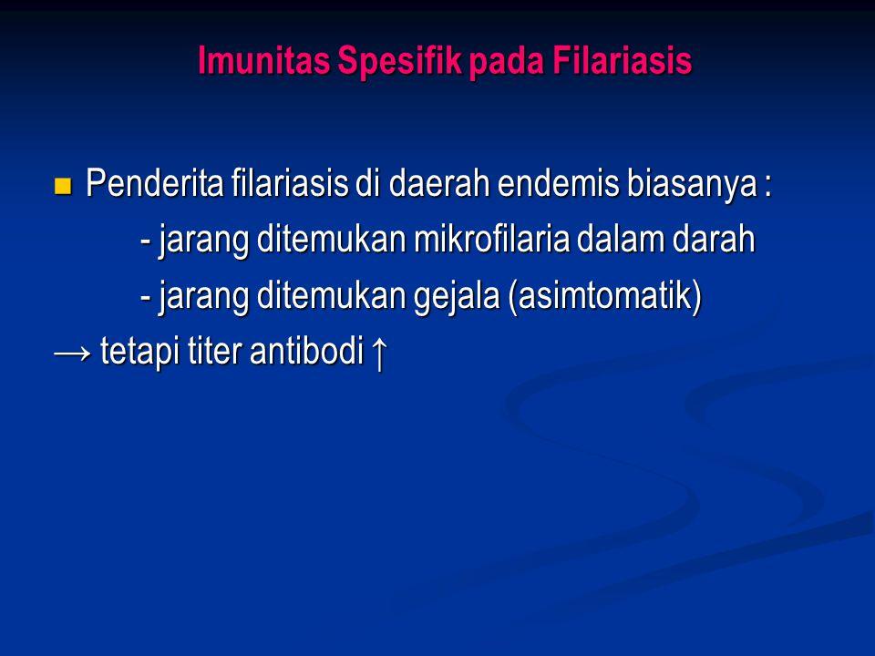 Imunitas Spesifik pada Filariasis