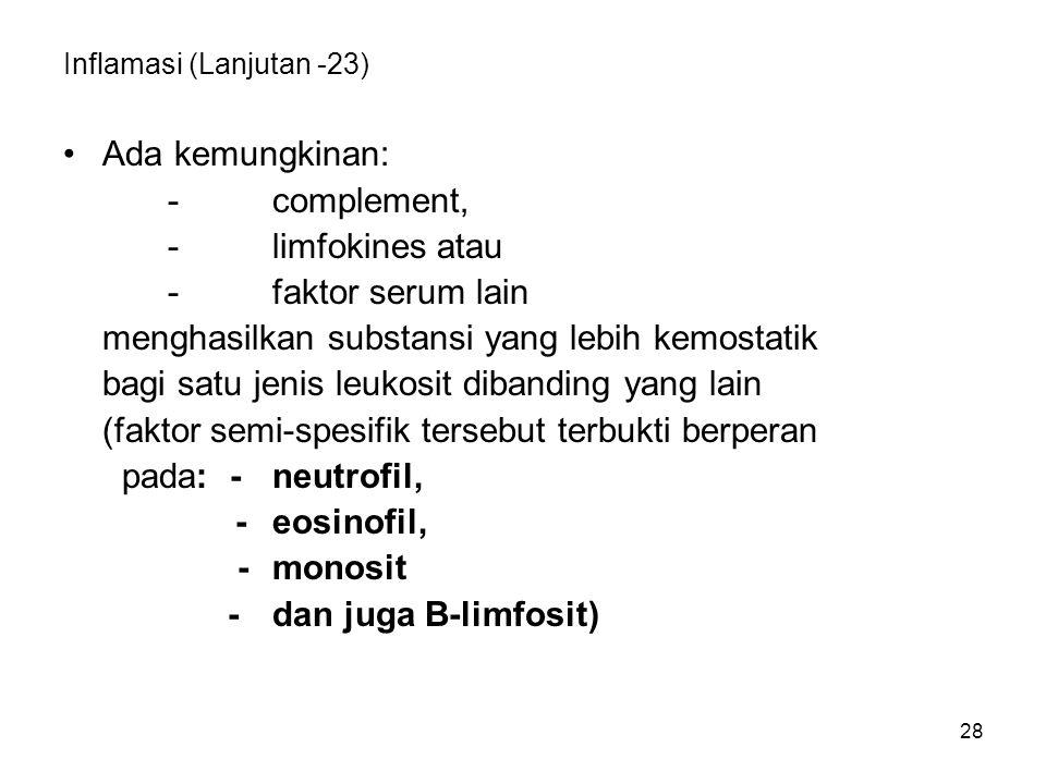 Inflamasi (Lanjutan -23)