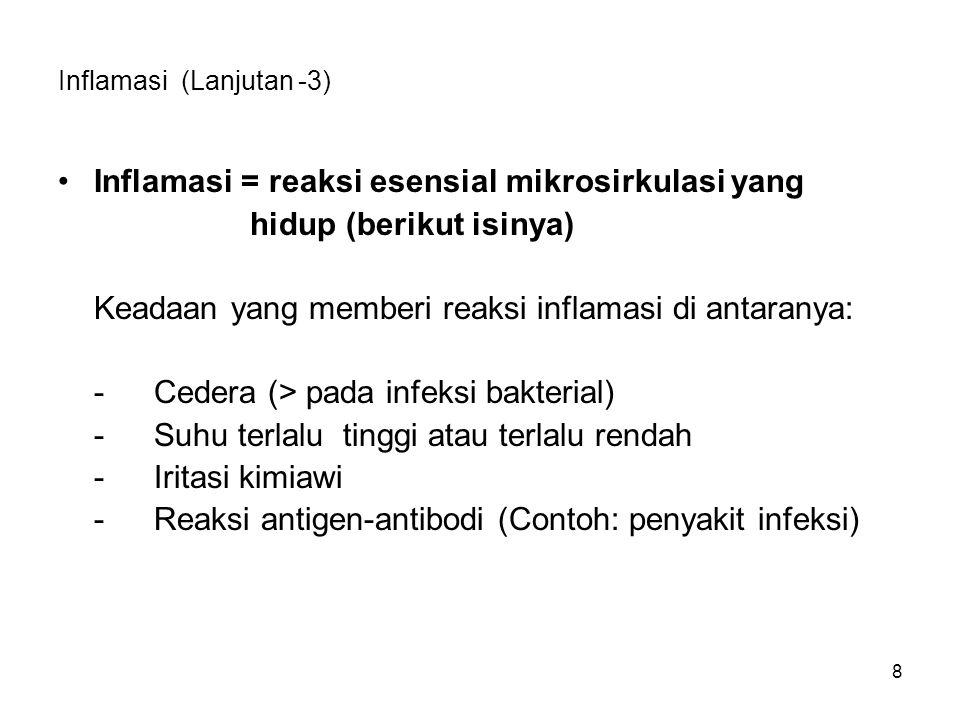 Inflamasi (Lanjutan -3)