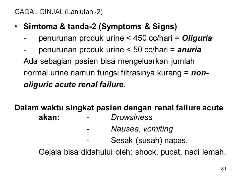 GAGAL GINJAL (Lanjutan -2)