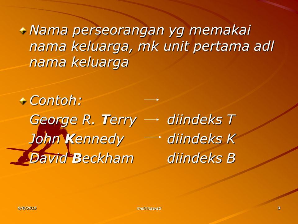 George R. Terry diindeks T John Kennedy diindeks K