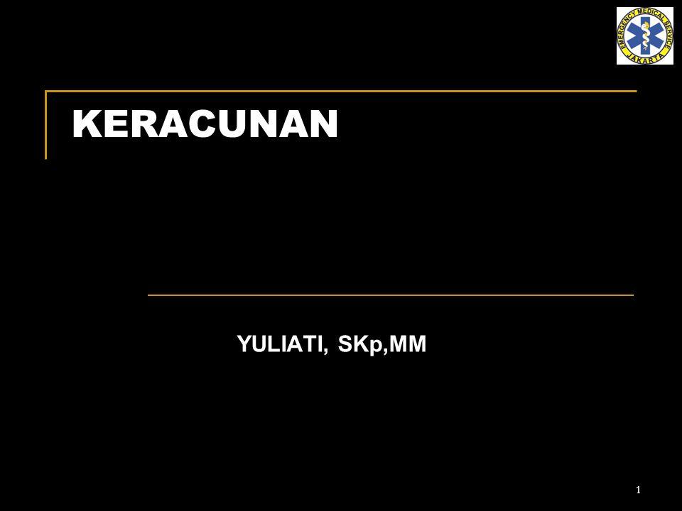 KERACUNAN YULIATI, SKp,MM
