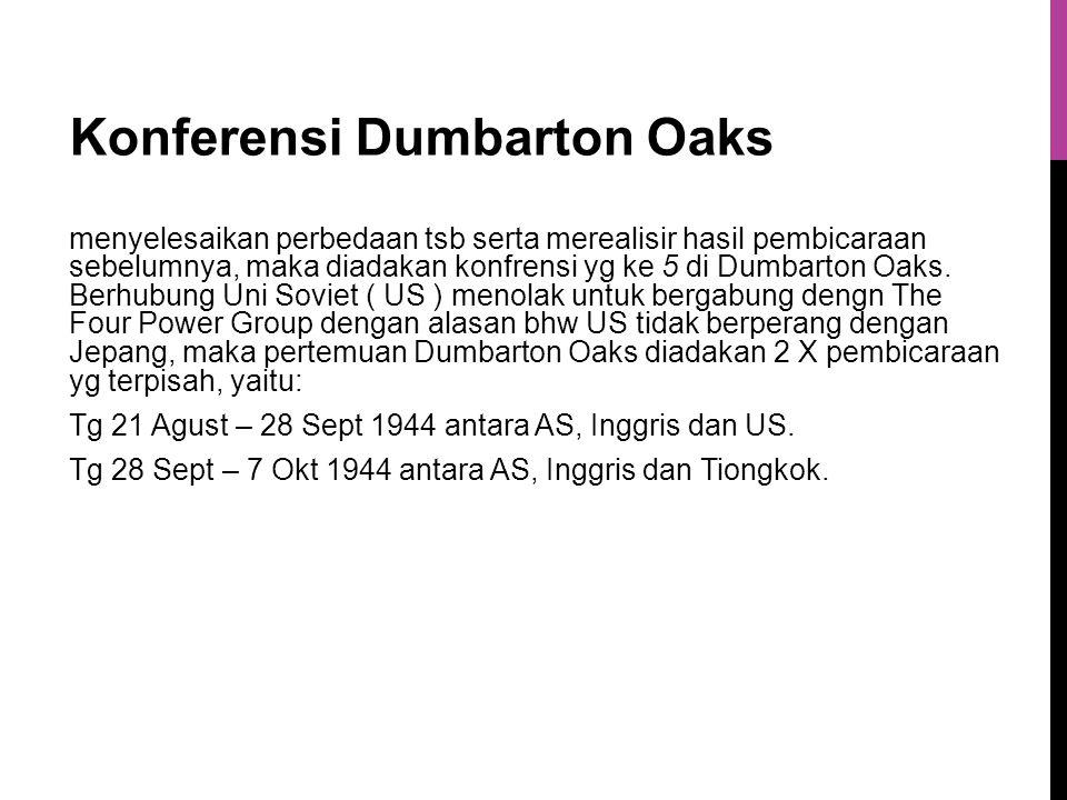 Konferensi Dumbarton Oaks