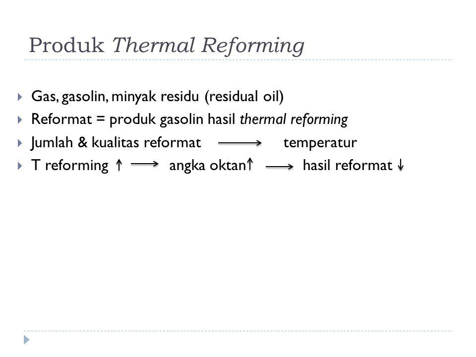 Produk Thermal Reforming
