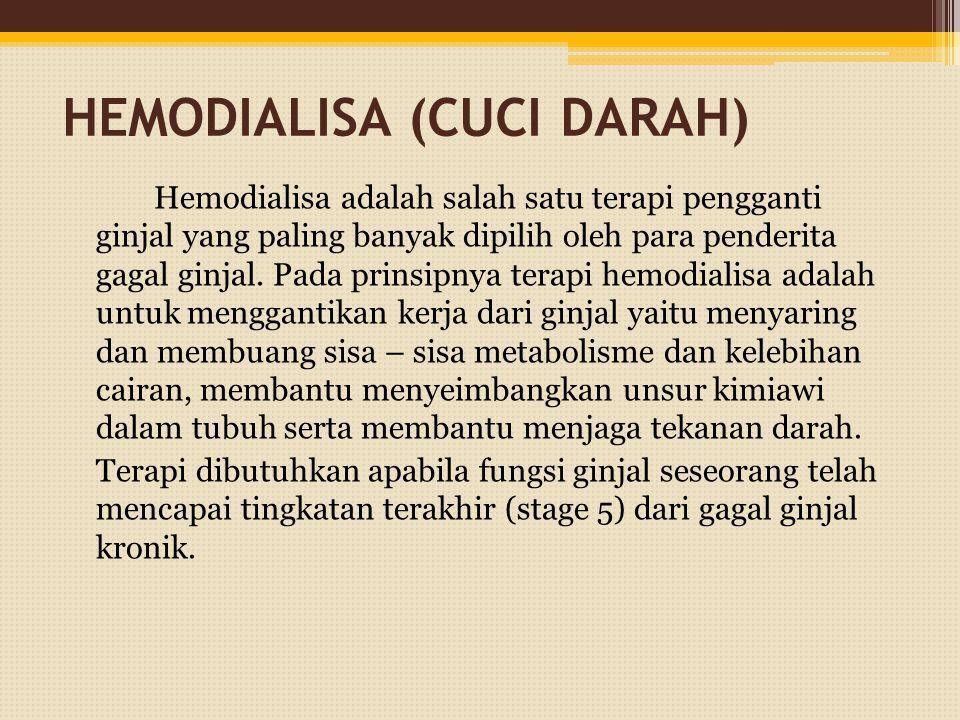HEMODIALISA (CUCI DARAH)