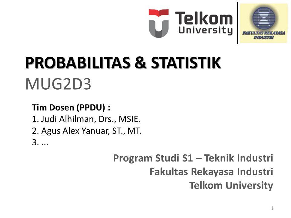 PROBABILITAS & STATISTIK MUG2D3