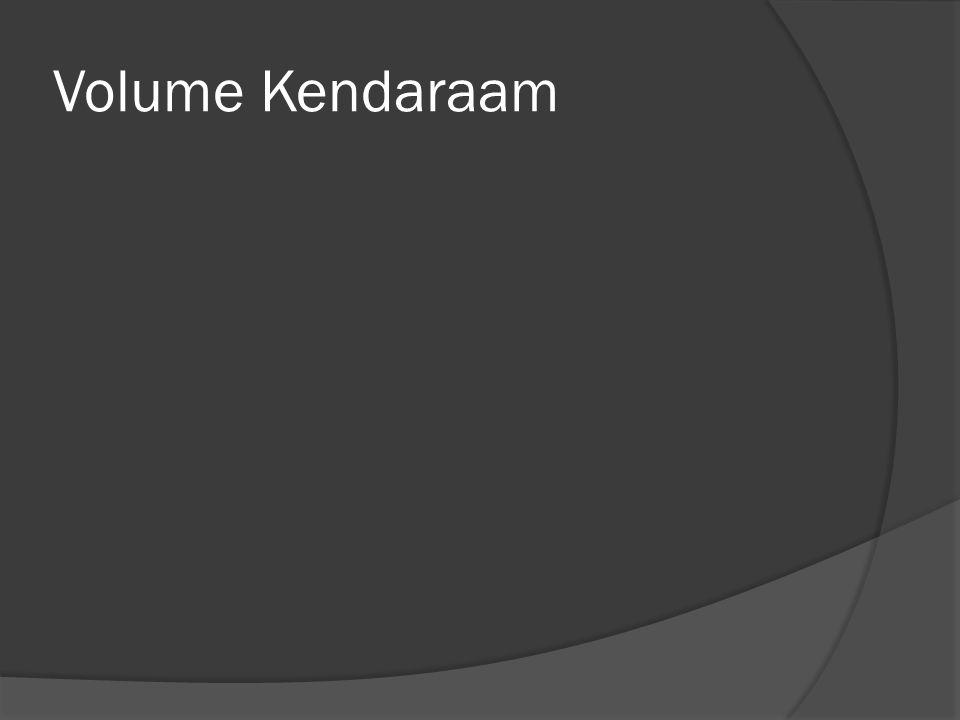 Volume Kendaraam