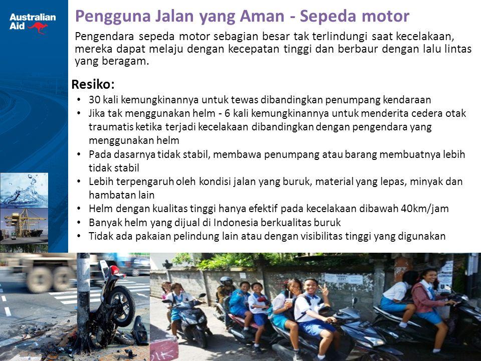 Pengguna Jalan yang Aman - Sepeda motor