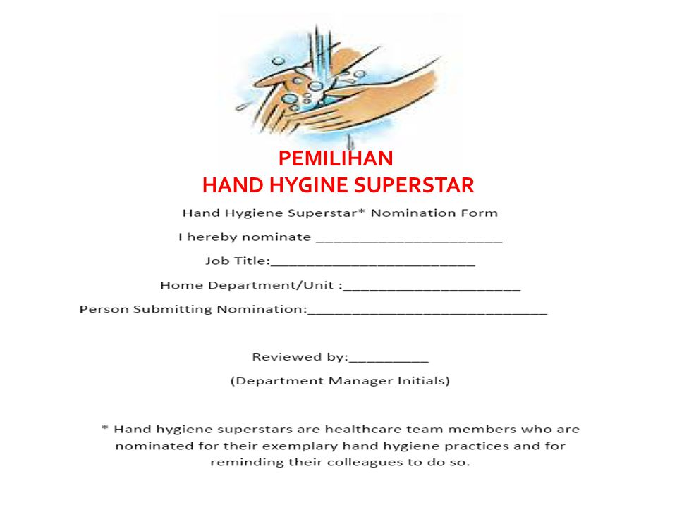 PEMILIHAN HAND HYGINE SUPERSTAR