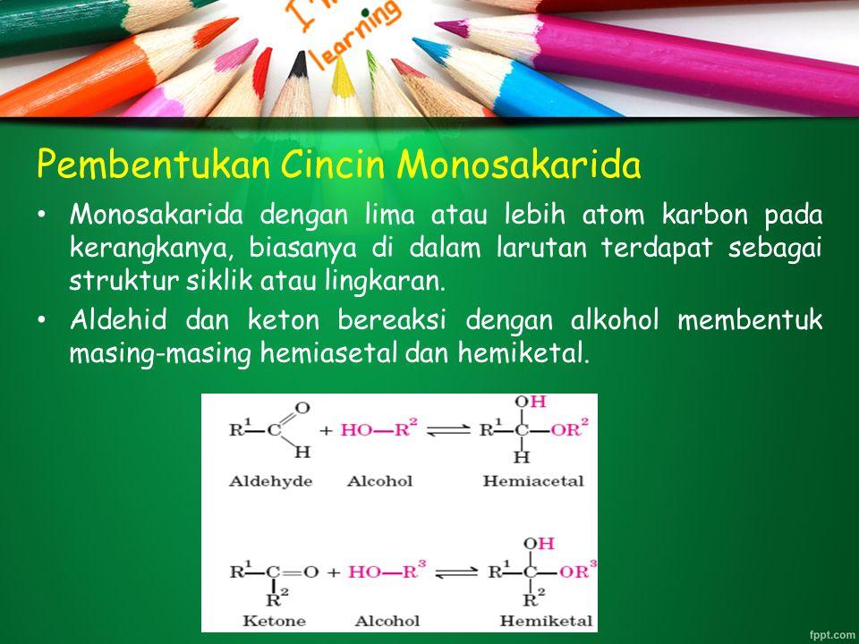 Pembentukan Cincin Monosakarida