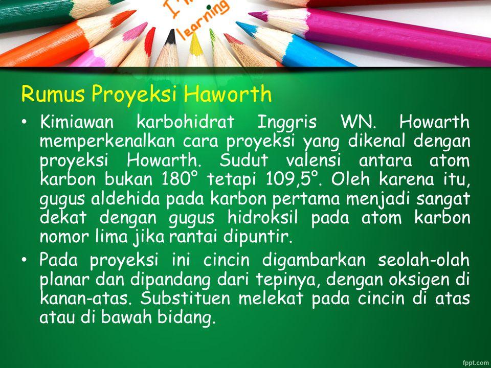 Rumus Proyeksi Haworth