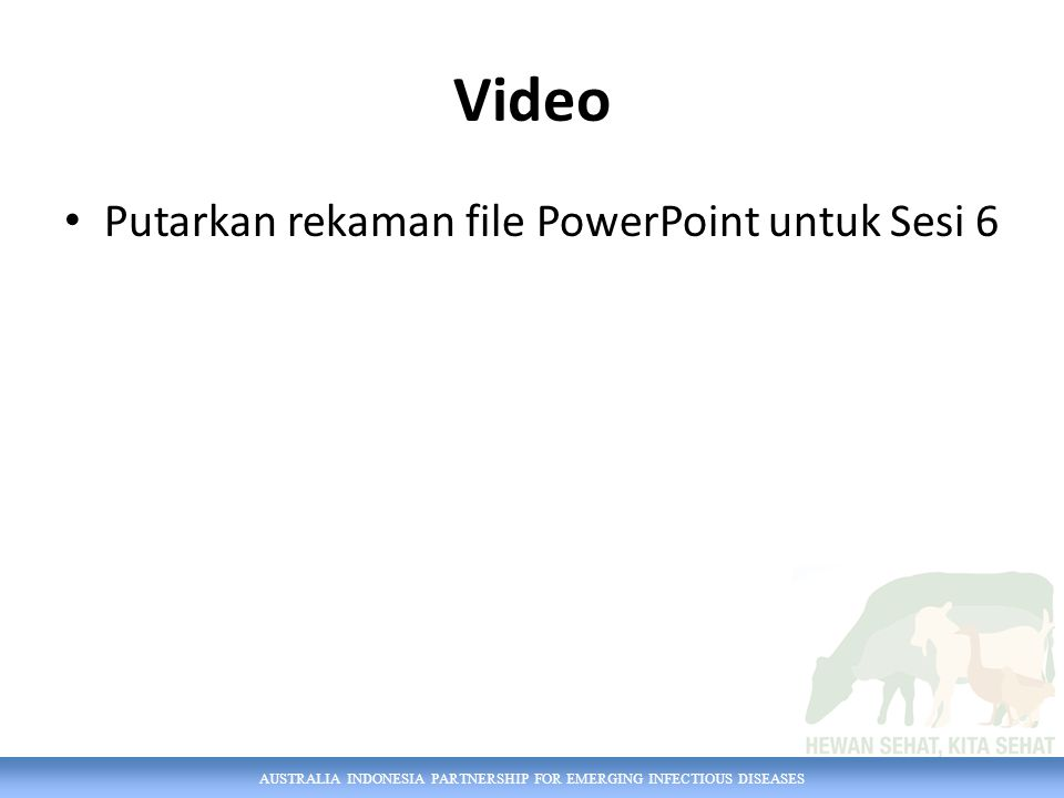 Video Putarkan rekaman file PowerPoint untuk Sesi 6