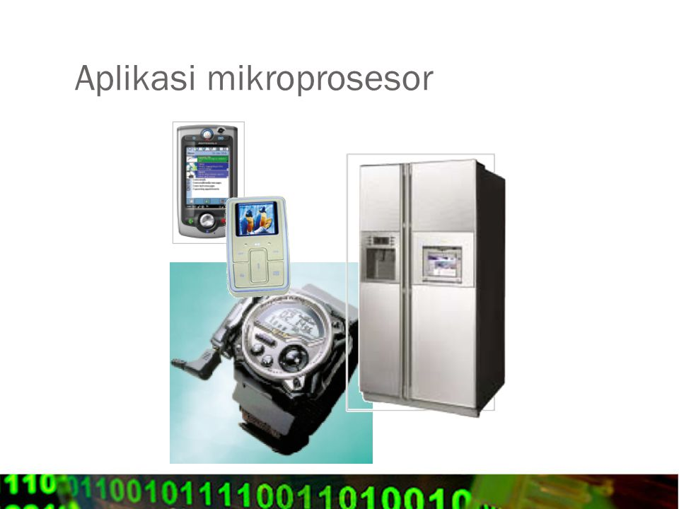 Aplikasi mikroprosesor