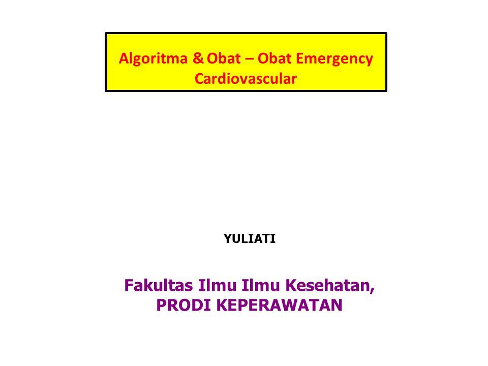 Algoritma & Obat – Obat Emergency Cardiovascular