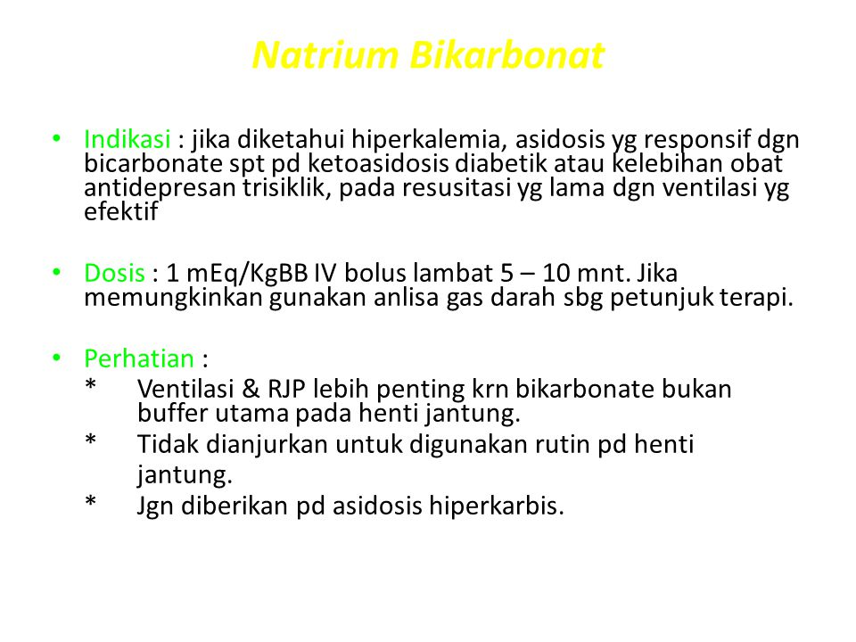 Natrium Bikarbonat