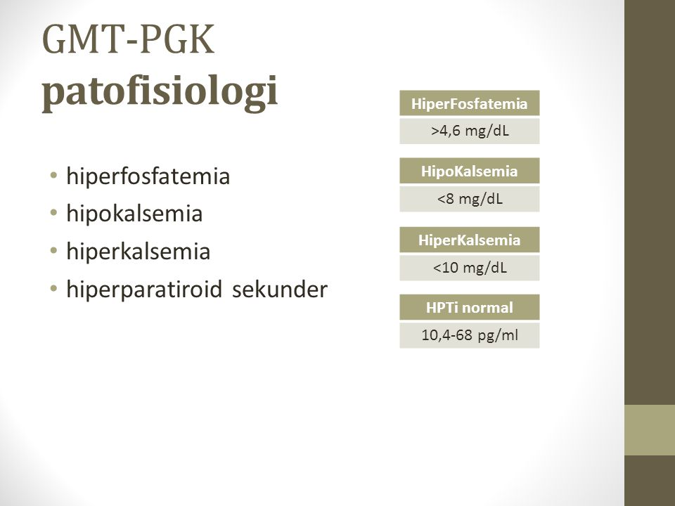 GMT-PGK patofisiologi