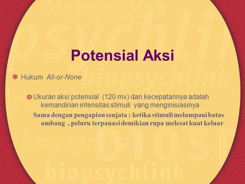 Potensial Aksi Hukum All-or-None