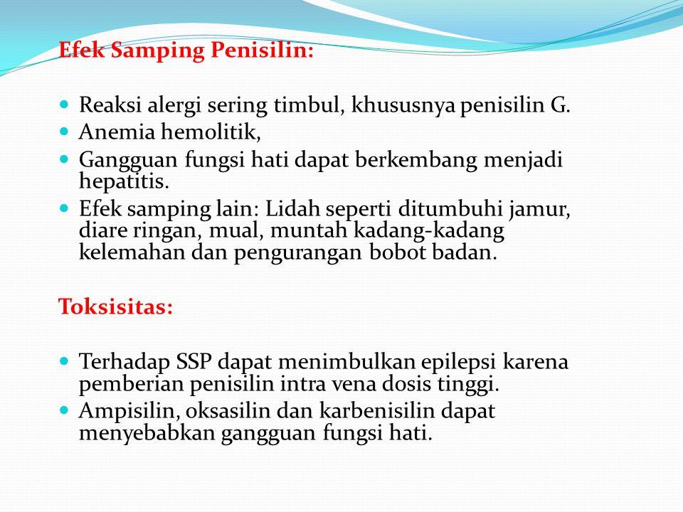 Efek Samping Penisilin: