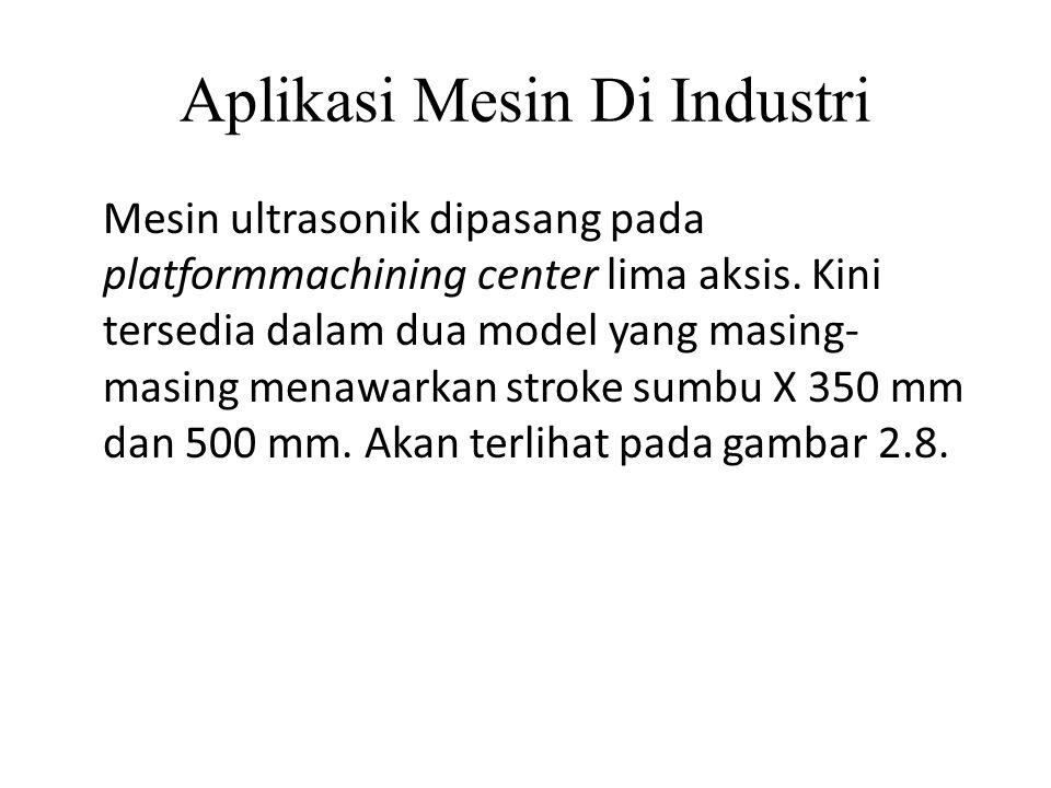 Aplikasi Mesin Di Industri