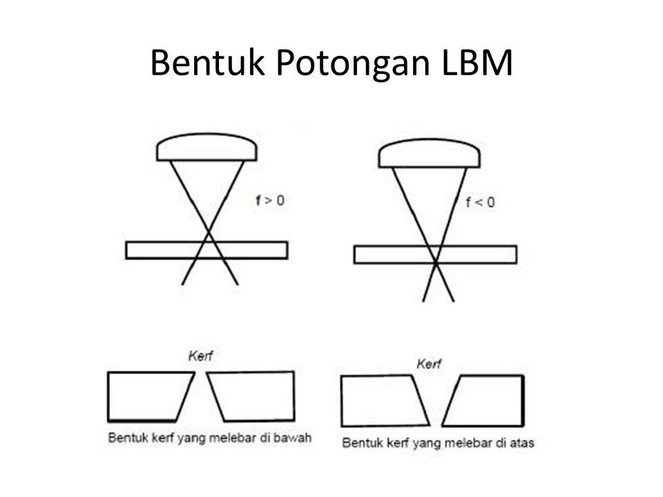Bentuk Potongan LBM