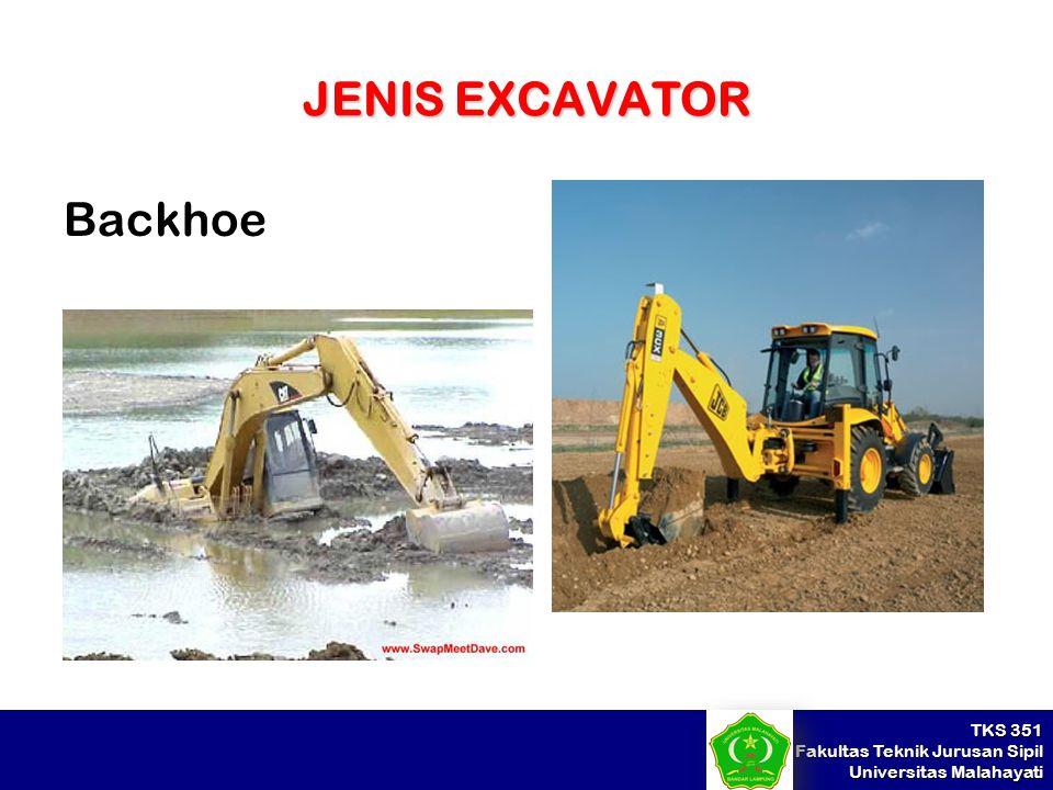 JENIS EXCAVATOR Backhoe
