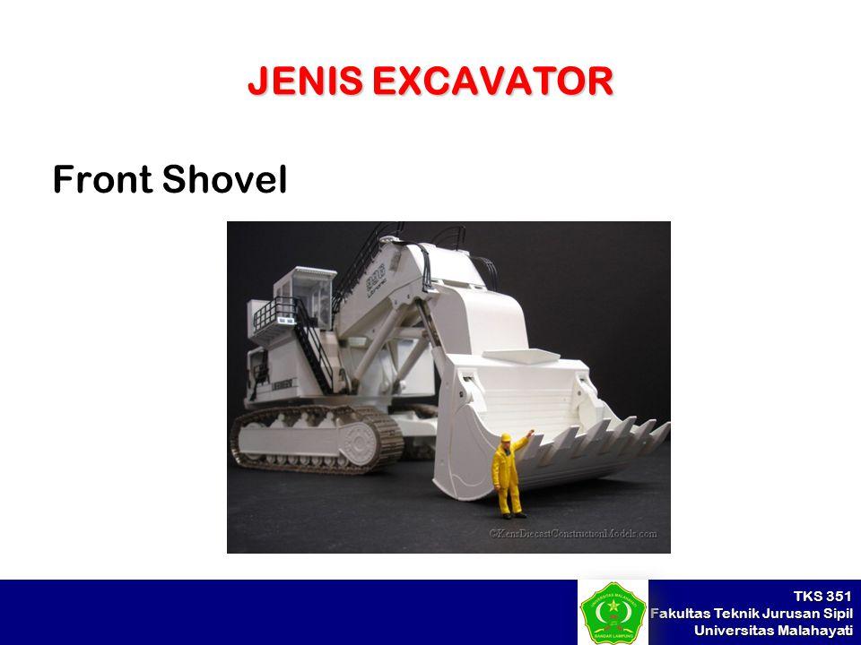 JENIS EXCAVATOR Front Shovel