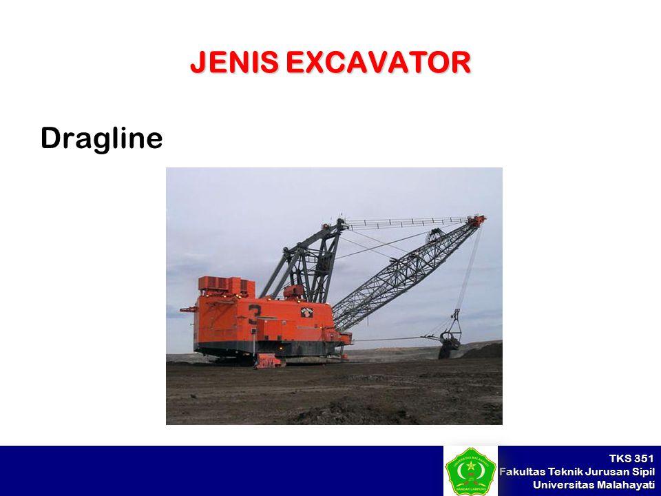 JENIS EXCAVATOR Dragline