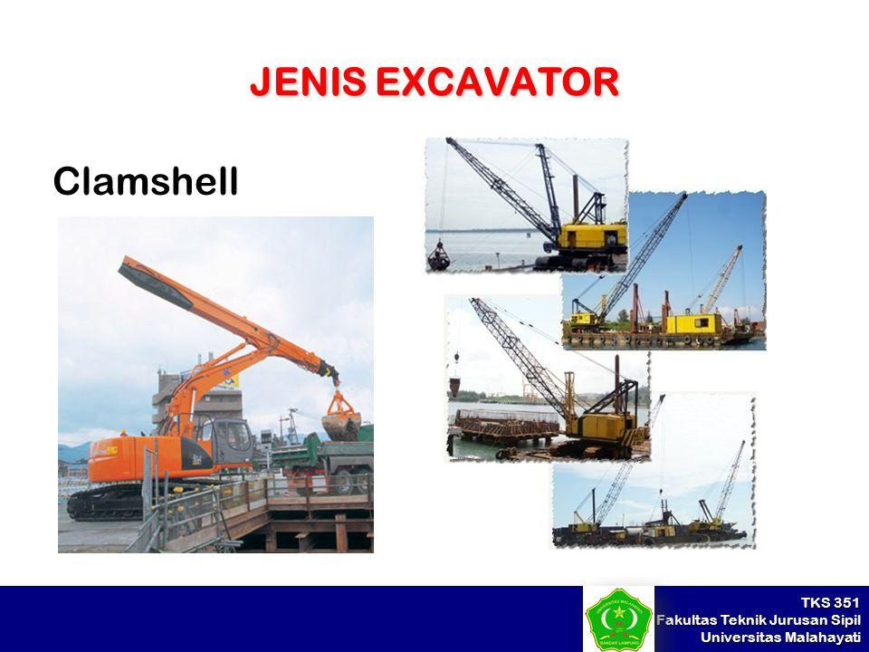 JENIS EXCAVATOR Clamshell