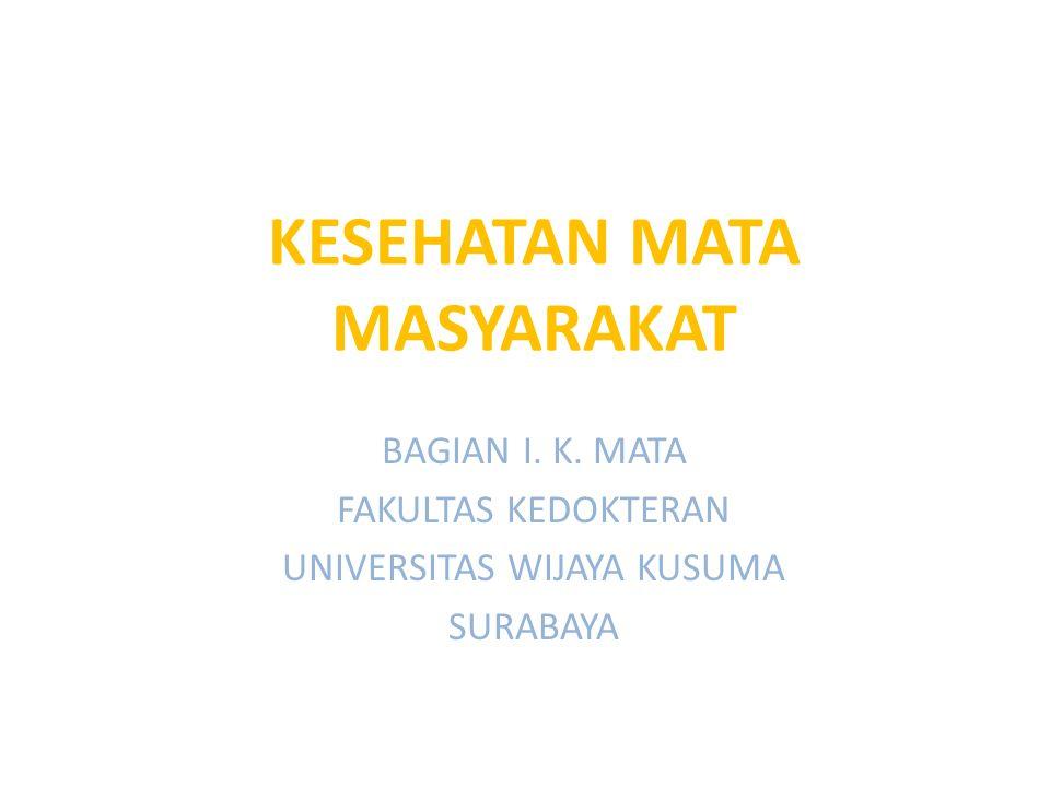 KESEHATAN MATA MASYARAKAT
