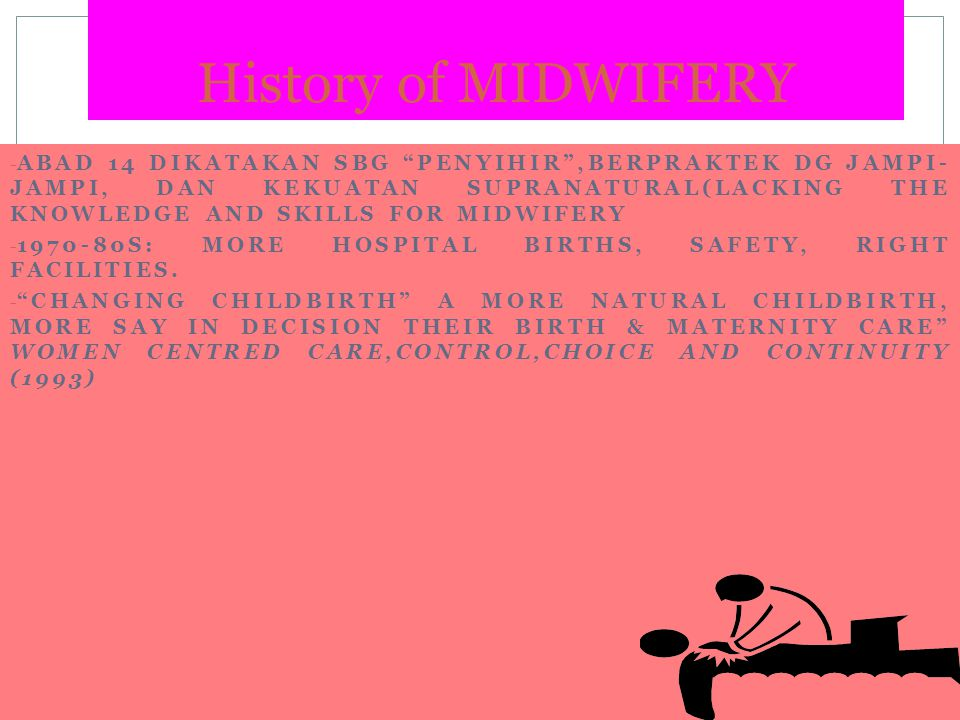 History of MIDWIFERY
