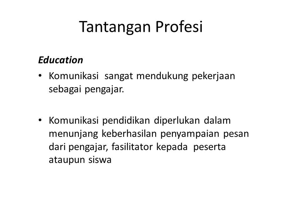 Tantangan Profesi Education