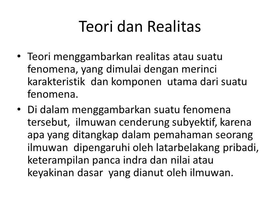 Teori dan Realitas