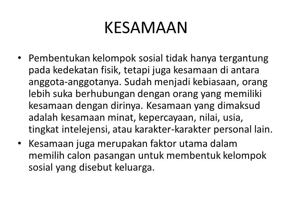 KESAMAAN
